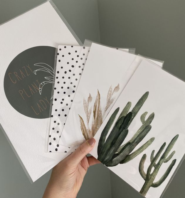 Greenery Bundle (4 prints)